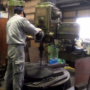 ボール盤 金属加工 機械加工